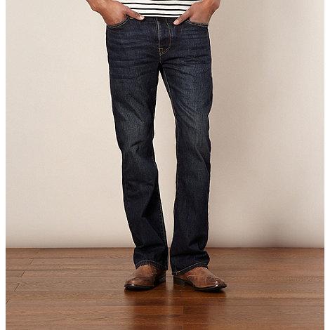 J by Jasper Conran - Designer dark blue bootcut jeans