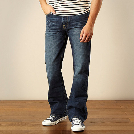 J by Jasper Conran - Designer blue bootcut jeans