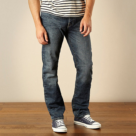 J by Jasper Conran - Designer light blue straight leg jeans