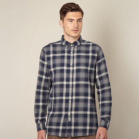 J by Jasper Conran - Designer navy checked shirt