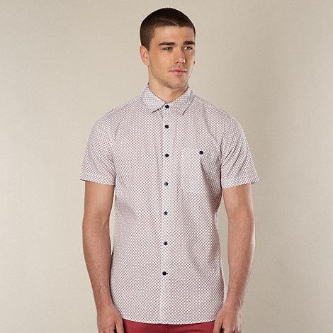 J by Jasper Conran - Designer white diamond shirt