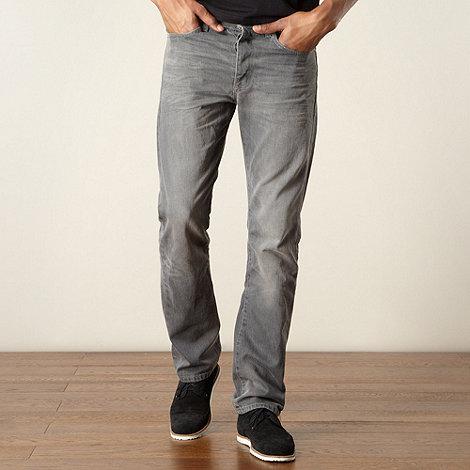 J by Jasper Conran - Designer grey straight leg jeans