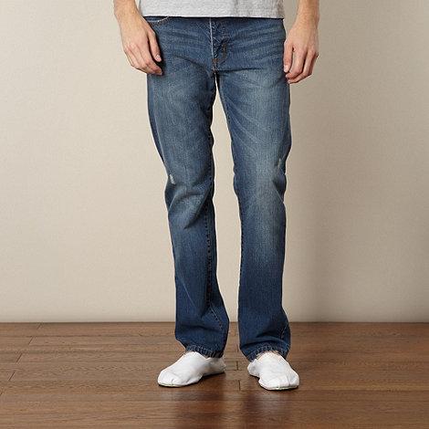 J by Jasper Conran - Designer blue straight leg jeans