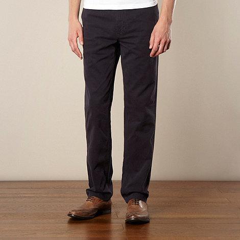 J by Jasper Conran - Designer navy straight leg chinos