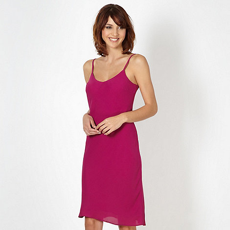 Red Herring - Dark pink woven camisole dress