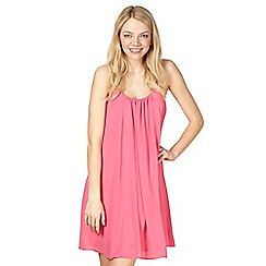 Red Herring - Bright pink camisole dress