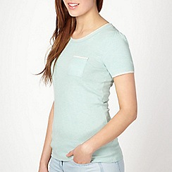 Red Herring - Light green short sleeved jumper