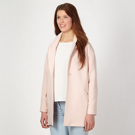 Red Herring - Light pink duster coat