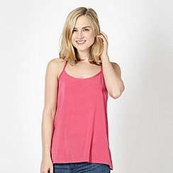 Red Herring - Pink racer back camisole