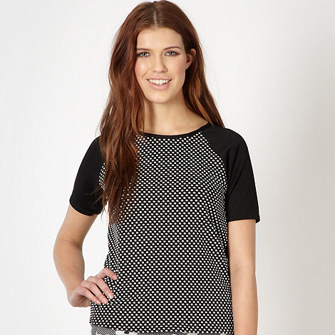 Red Herring - Black spotted front t-shirt