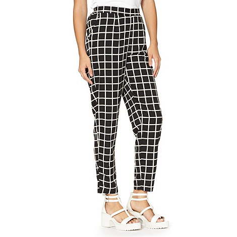 Red Herring - Black check trousers