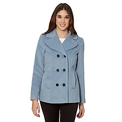 Red Herring - Light blue double breasted reefer jacket