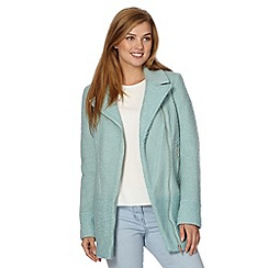 Red Herring - Turquoise biker jacket