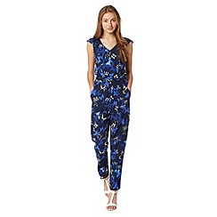 Red Herring - Blue butterfly print jumpsuit