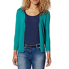 Red Herring - Green V neck cardigan