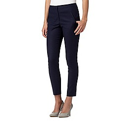 Red Herring - Navy slim leg trousers