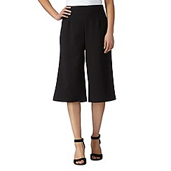 Red Herring - Black zip culottes