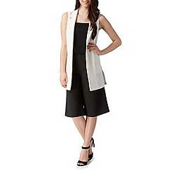 Red Herring - White sleeveless blazer