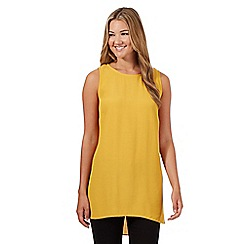 Red Herring - Mustard side split tunic top