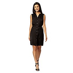 Red Herring - Black utility dress