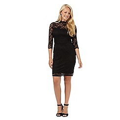 Red Herring - Black lace dress