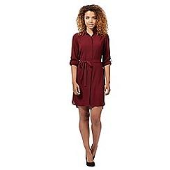 Red Herring - Red shirt dress