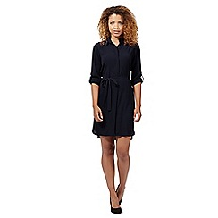 Red Herring - Navy shirt dress