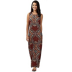 Red Herring - Terracotta african maxi dress