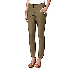 Red Herring - Khaki slim leg trousers