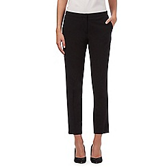 Red Herring - Black cropped slim leg trousers