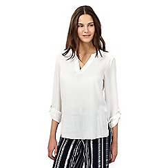Red Herring - White ring blouse