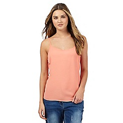 Red Herring - Peach plain cami