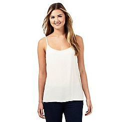 Red Herring - Cream plain cami