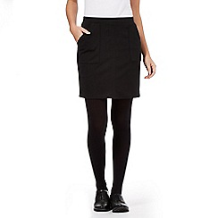 Red Herring - Black mini skirt