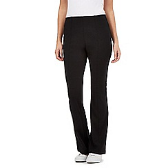 Red Herring - Black kick flare trousers