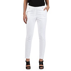 Red Herring - White summer slim trousers