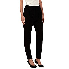 Red Herring - Black cropped trousers