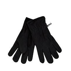 The Collection - Black fleece gloves