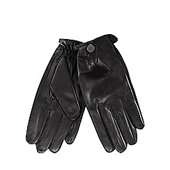 RJR.John Rocha - Black leather driving gloves