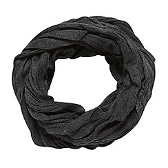 Red Herring - Grey crinkle knit snood