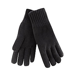 Maine New England - Black thermal gloves
