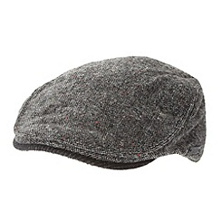 RJR.John Rocha - Designer grey flat cap