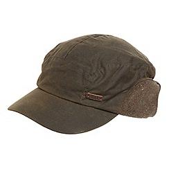 RJR.John Rocha - Designer khaki ear flap cap