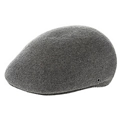 Osborne - Grey moulded flat cap