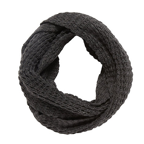 Mantaray - Grey textured knit snood