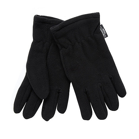 Maine New England - Black thermal fleece gloves