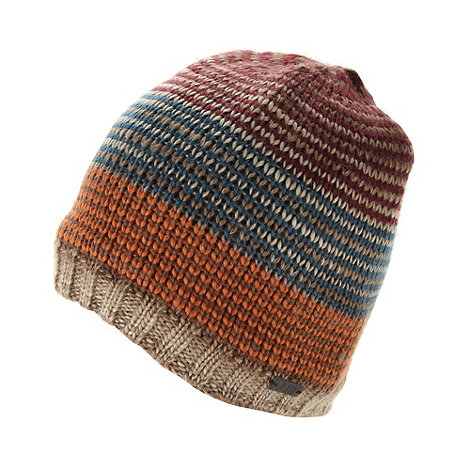 RJR.John Rocha - Designer multi striped knitted beanie