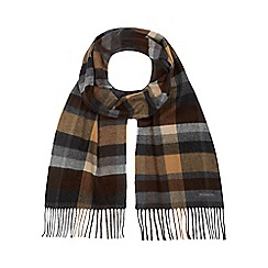 RJR.John Rocha - Brown checked scarf