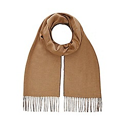 J by Jasper Conran - Tan reversible scarf