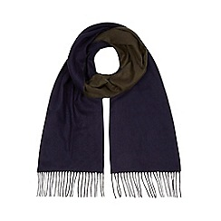J by Jasper Conran - Khaki reversible scarf